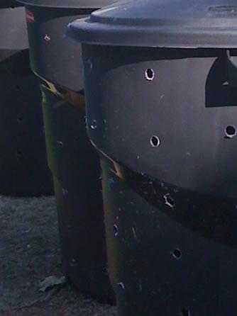 compost holes