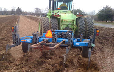Get Rid of Hard Pan Soil for Better Row Crop Yields