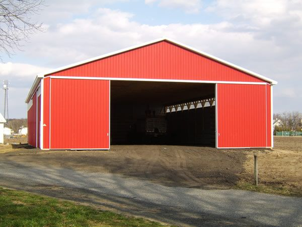 Pole Barn Construction Pictures: How To Build Your Own ...